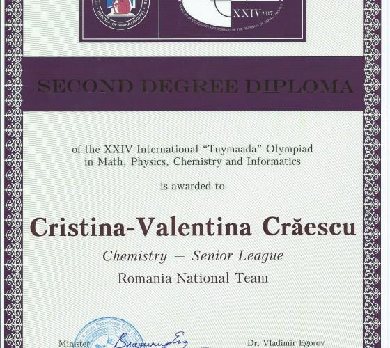 Craescu Cristina – Tuymaada