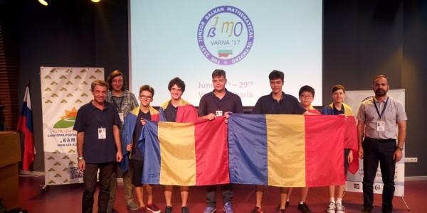 Balcaniada de matematica 2017
