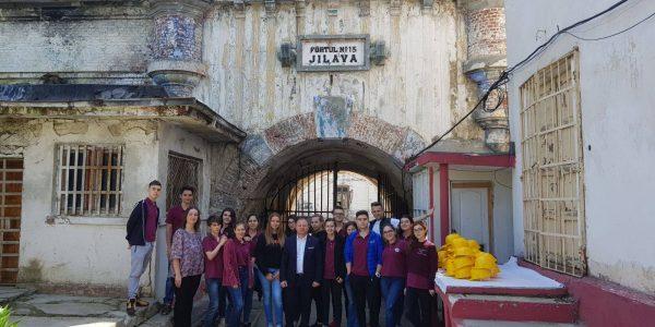 Vizita Penitenciarul Jilava, Fortul 13