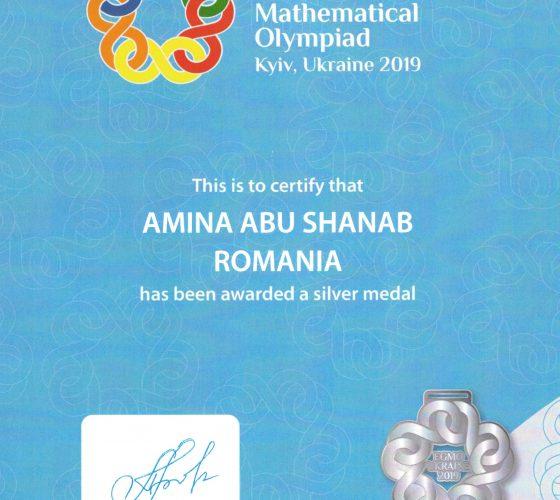 Abu Shanab Amina-EGMO-Silver